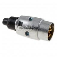 Разъем фаркопа универс.(папа) металл. ARNEZI A1509003